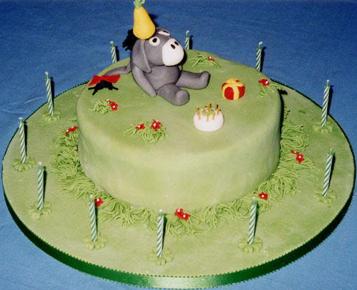 Playmate In Birthday Cake